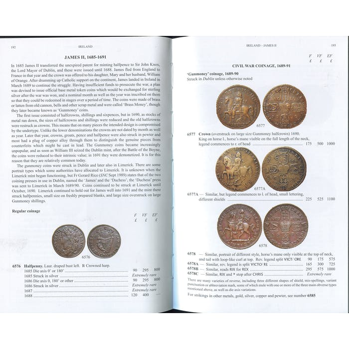 Coins of Scotland, Ireland and the Islands - Token Publishing Shop
